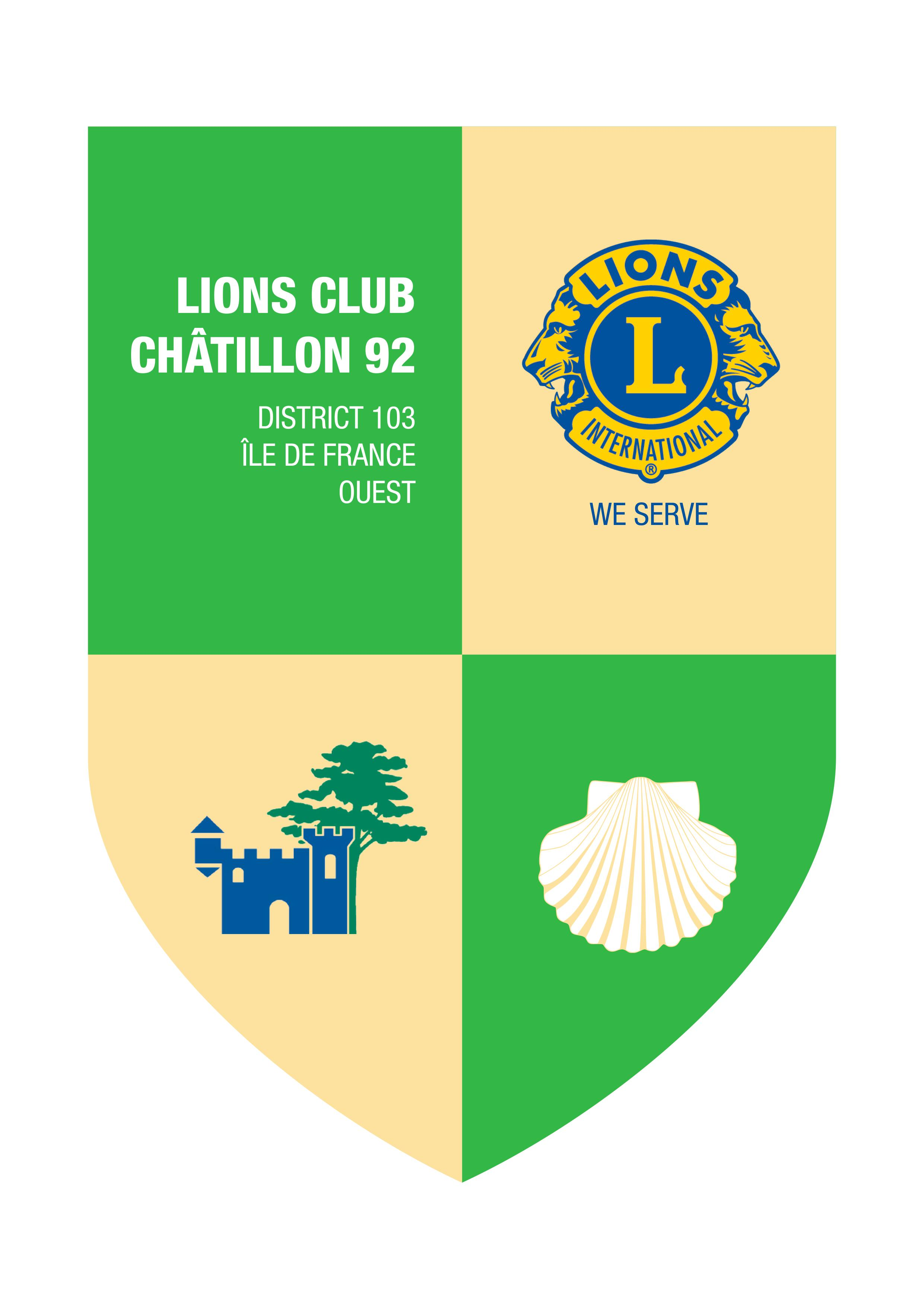 Logo Lions Club Châtillon