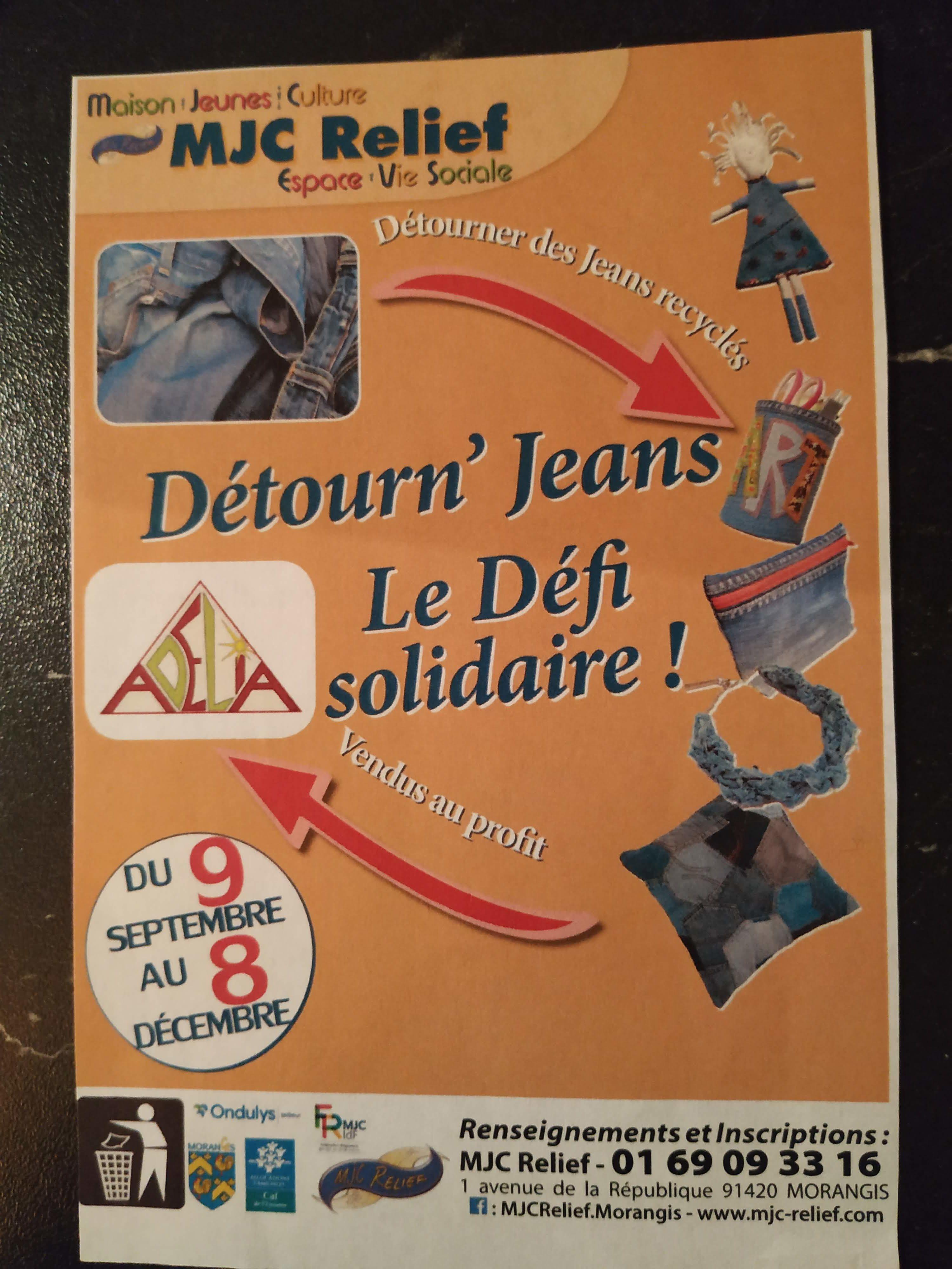 Flyer Détourn' jeans